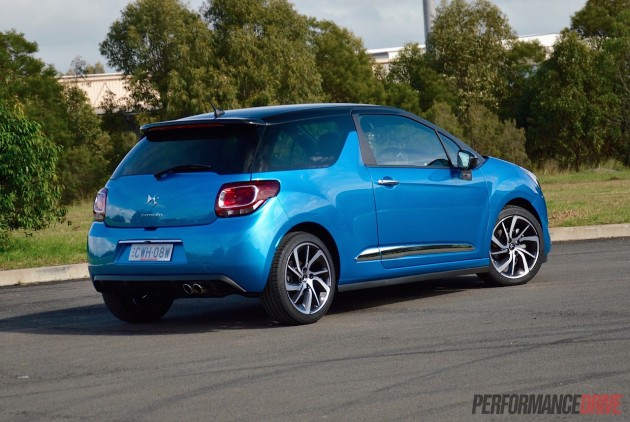 2015 Citroen DS3 DSport-rear