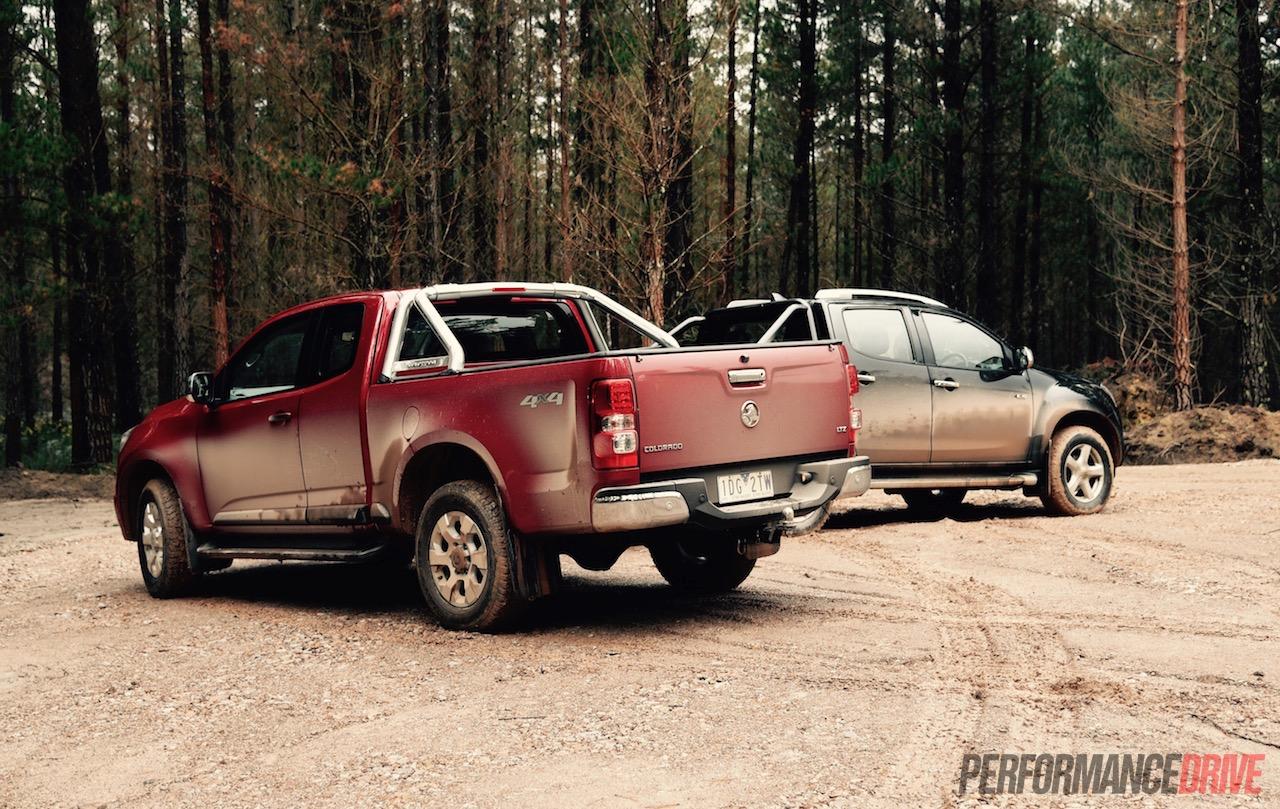 2015 Holden Colorado vs Isuzu D-Max: 4x4 ute comparison (video) | PerformanceDrive
