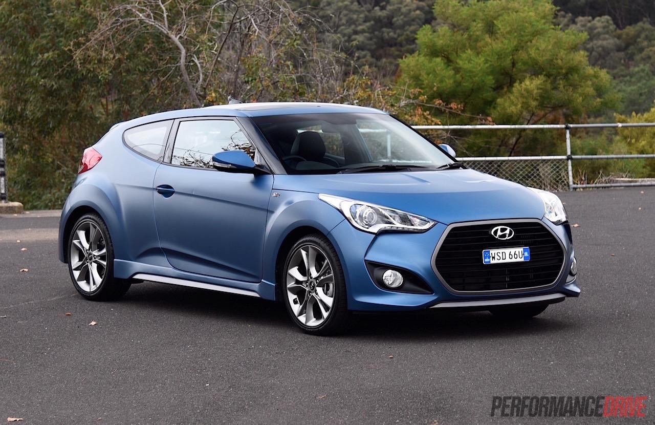 Hyundai veloster matte blue