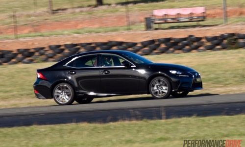 Lexus IS 300h F Sport track test – can you have fun in a hybrid? (video)
