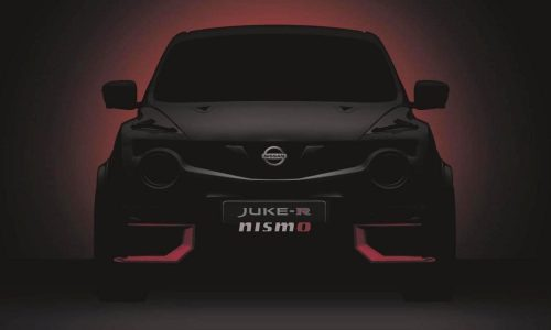 2015 Nissan Juke-R Nismo to debut at Goodwood Festival