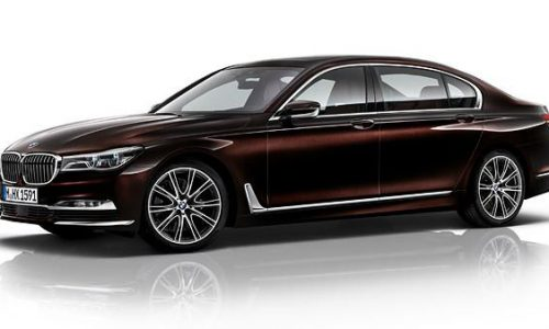 2016 BMW 7 Series Individual option pack revealed