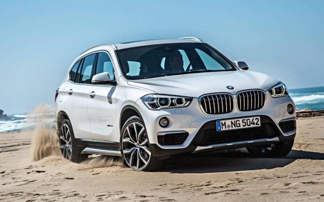 top SUVs 2016 BMW X1-sand