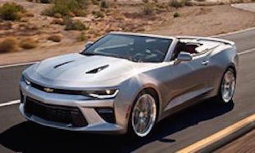 2016 Chevrolet Camaro Convertible leaked online, debuts June 24