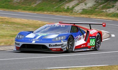 Ford GT LM GTE Pro race car unveiled, for 2016 Le Mans
