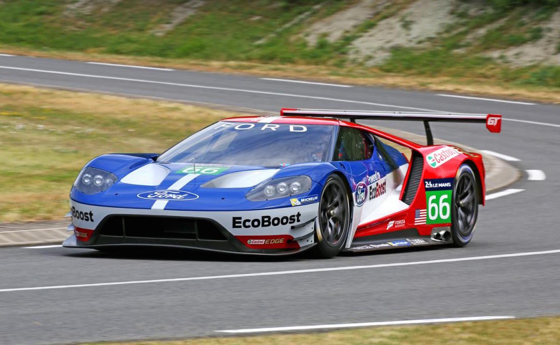 Ford Gt Lm Gte Pro Race Car Unveiled For 2016 Le Mans
