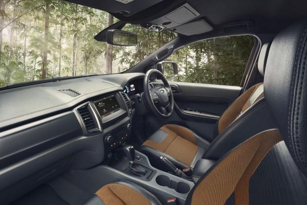 2016 Ford Ranger Wildtrak-interior