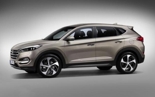 top SUVs 2016-Hyundai-Tuscon