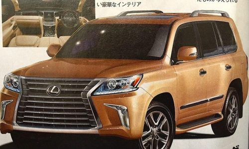 Facelifted 2016 Lexus LX 570 or just a digital prediction?