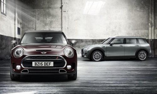 2016 MINI Clubman makes its debut, gets first 8spd auto option