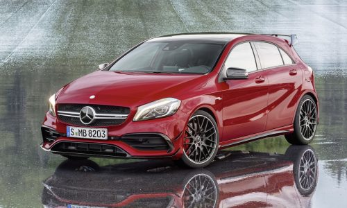 2016 Mercedes-AMG A 45 gets boosted engine, 0-100km/h in 4.2sec