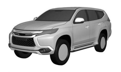 2016 Mitsubishi Challenger design revealed in patent images