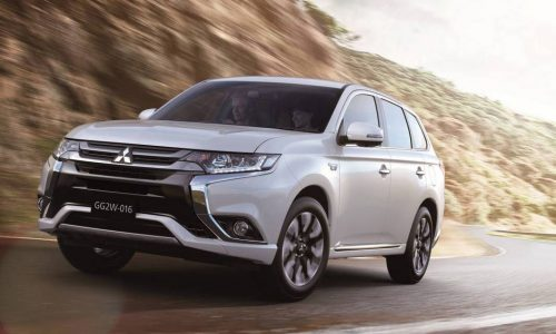 2016 Mitsubishi Outlander PHEV revealed; more refined, added safety