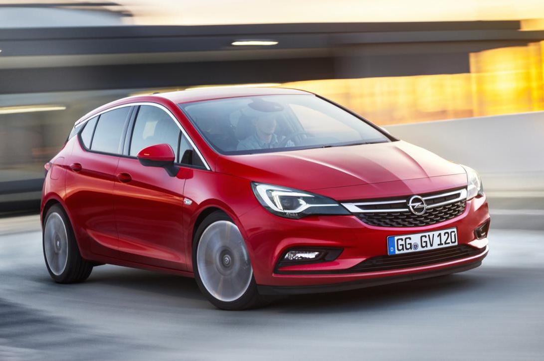 2016 Opel Astra revealed; most advanced yet, up to 200kg lighter