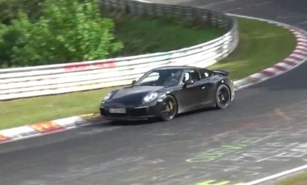 2016 Porsche 911 GT prototype