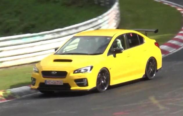 2016 Subaru WRX STI prototype