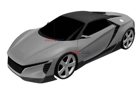 2018 Honda sports car patent