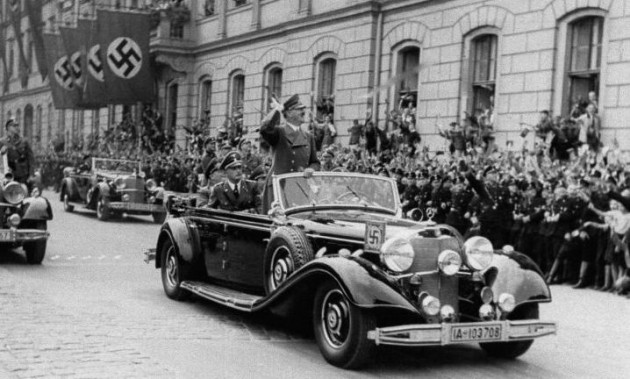 Adolf Hitler-Mercedes 770