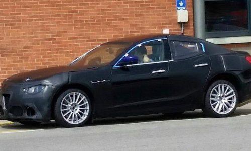 Alfa Romeo Giulia spotted with near-production body?