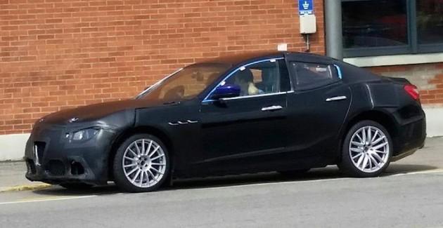 Alfa Romeo Giulia prototype maybe