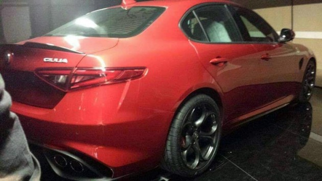 Alfa Romeo Giulia-rear