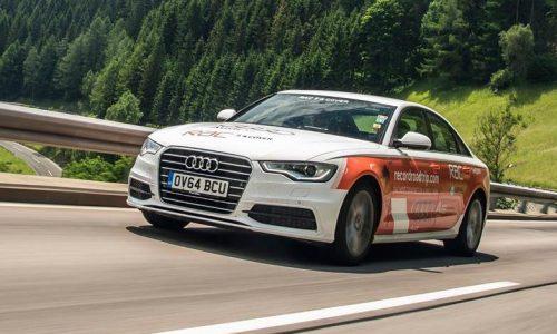 Audi A6 2.0 TDI sets world record economy run, 1865km on a tank