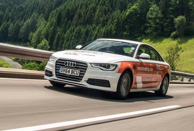 Audi A6 2.0 TDI economy record