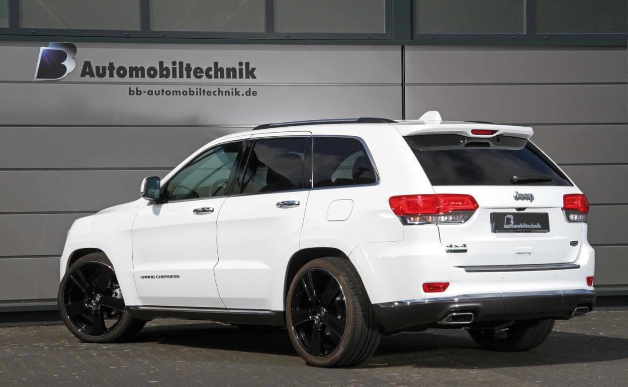 B&B Automobiltechnik tunes Jeep Grand Cherokee CRD diesel ...