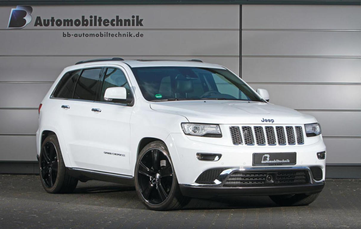 Contact Mazda Of Humble >> B&B Automobiltechnik tunes Jeep Grand Cherokee CRD diesel | PerformanceDrive