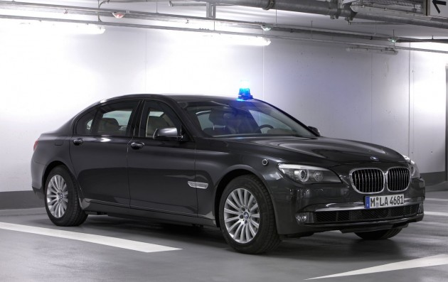 BMW 760iL Protection
