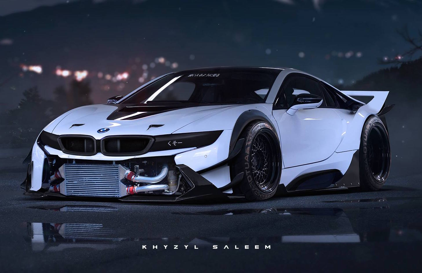 What A Bmw I8 Could Look Like With Extreme Mods