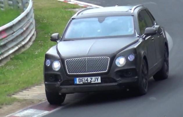 Bentley Bentayga prototype