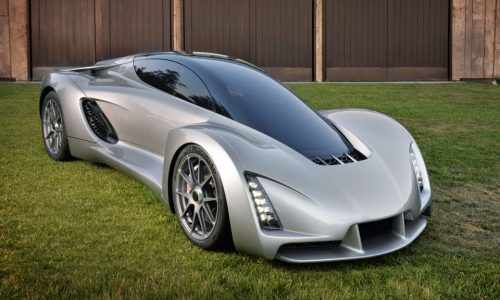 Divergent Microfactories Blade, world's first 3D printed supercar?