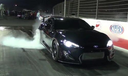 Video: 2JZ-powered Toyota 86 runs 9.1sec, world's fastest?
