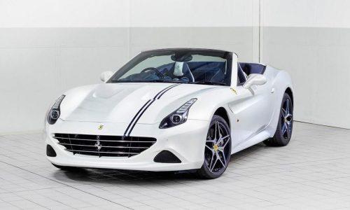 Ferrari showing tailor made California T at Goodwood