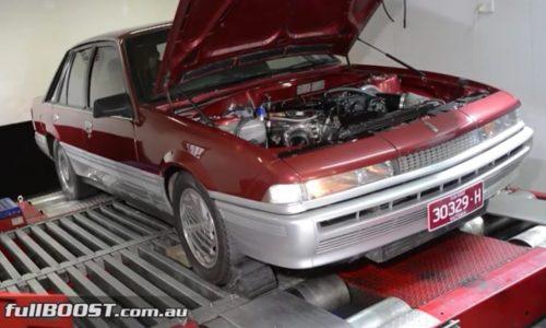 Video: Sleeper Holden VL Calais turbo produces 734kW ATW