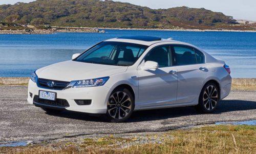 Honda Accord Sport Hybrid on sale in Australia from $58,990