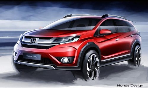 Honda BR-V previewed, new compact seven-seat SUV