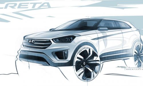 Hyundai Creta compact SUV previewed in official sketches