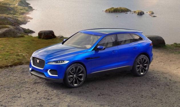 top SUVs Jaguar F-Pace concept
