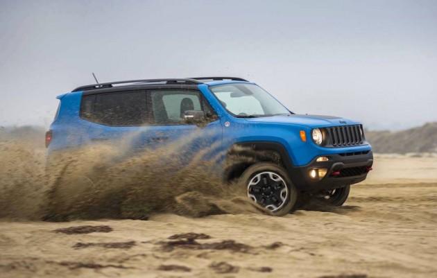 top SUVs 2015 Jeep Renegade Trailhawk