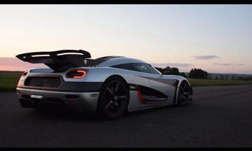 Koenigsegg One:1 breaks world record 0-300-0km/h run (video)
