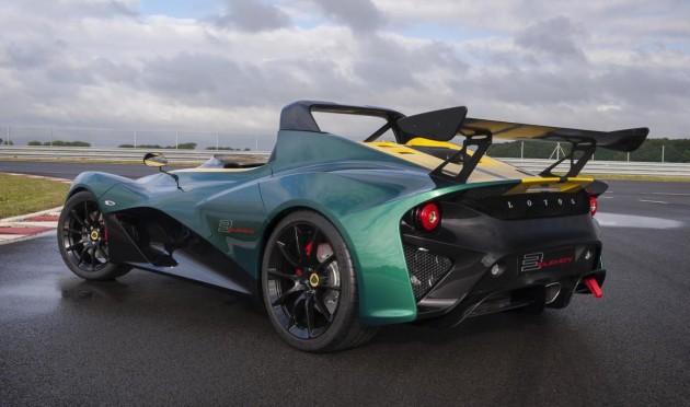 Lotus 3-Eleven-rear