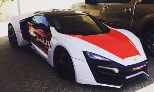 Lykan Hypersport added to Dubai police fleet, most insane yet?