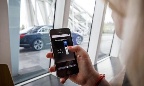 Mercedes & Bosch creating remote automated parking system