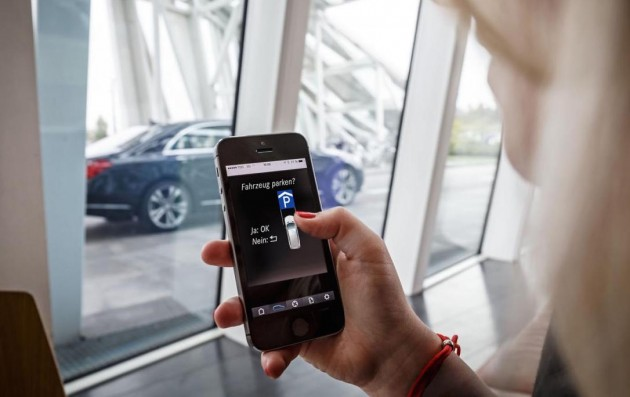 Mercedes and Bosch automated parking