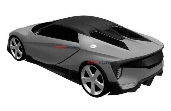 New Honda sports car patent