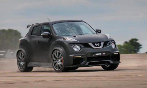 Nissan Juke-R 2.0 unveiled, gets GT-R Nismo running gear
