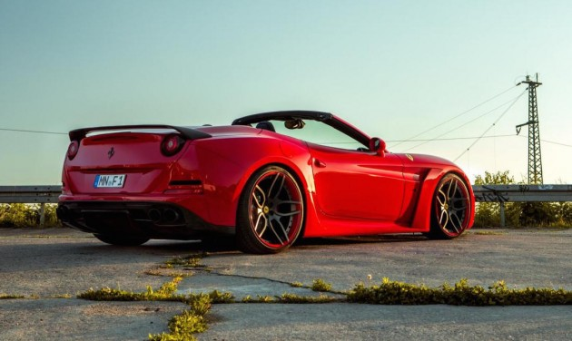 Novitec Rosso N-Largo Ferrari California T-rear