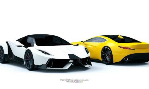 PSC Motors SP-200 SIN revealed in more detail, designed by 15yo